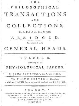 Philosophical Transactions and Collections PDF