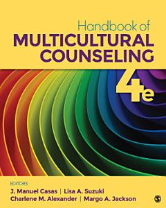 Handbook of Multicultural Counseling Book
