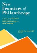 New Frontiers of Philanthropy