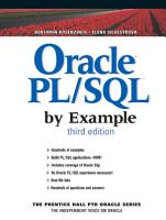Oracle PL SQL by Example PDF
