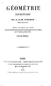 Géométrie élémentaire ... refaite conjointement avec l'auteur ... par M. Saigey