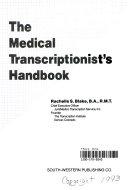 The Medical Transcriptionist's Handbook