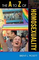 The A to Z of Homosexuality PDF
