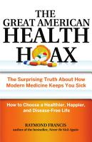 The Great American Health Hoax PDF