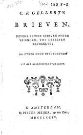C. F. Gellert's brieven