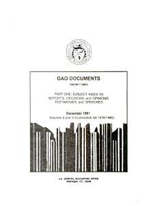 GAO Documents PDF