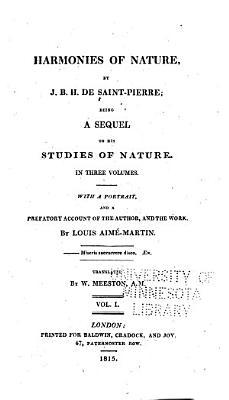 Harmonies of Nature PDF
