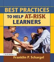 Best Practices to Help At Risk Learners PDF