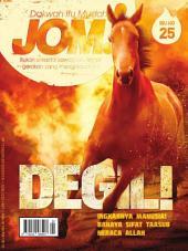 Isu 25 - Majalah Jom!: Degil!