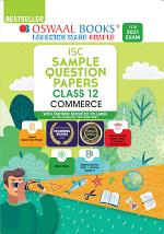 Oswaal ISC Sample Question Papers Class 12 Commerce Book (For 2021 Exam)