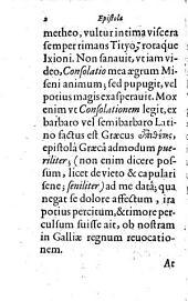 Epistola Graeca Simonis Lithi Miseni calvinistae in sua elementa
