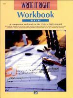 Write It Right   Workbook PDF
