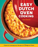 Easy Dutch Oven Cooking Book
