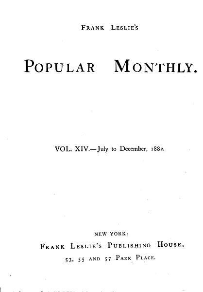 Download Frank Leslie s Popular Monthly Book