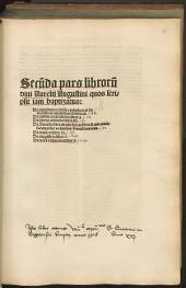 Libri: Quos scripsit iam baptizatus : 1. De moribus ecclesie catholice: et de moribus manicheoru[m] libri II. 2. De anime quantitate: liber I. .... 2
