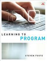 Learning to Program PDF