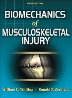 Biomechanics of Musculoskeletal Injury PDF