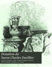 Donation du Baron Charles Davillier: catalogue des objets exposés au Musée du Louvre