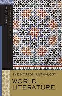 The Norton Anthology of World Literature  Volume 1   2 Book