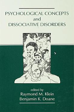 Psychological Concepts and Dissociative Disorders PDF