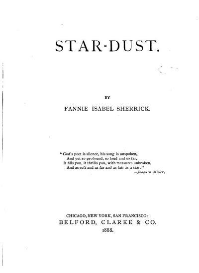 Star dust PDF