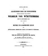 Abhandlung über des Aeschylos Promethie und Orestie: (Programm.)