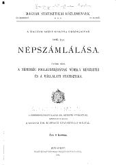Magyar statisztikai közlemények: Új sorozat ..., Volume12