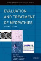 Evaluation and Treatment of Myopathies PDF