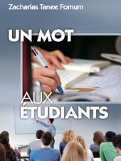 Un Mot Aux Etudiants
