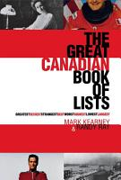 The Great Canadian Book of Lists PDF