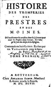 Historie Des Tromperies Des Prestres et des Moines