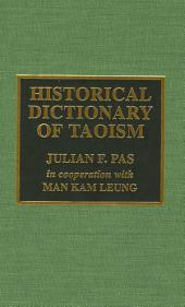 Historical Dictionary of Taoism
