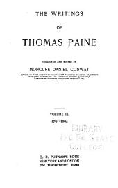 The Writings of Thomas Paine: Volume 3
