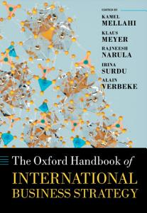 The Oxford Handbook of International Business Strategy PDF