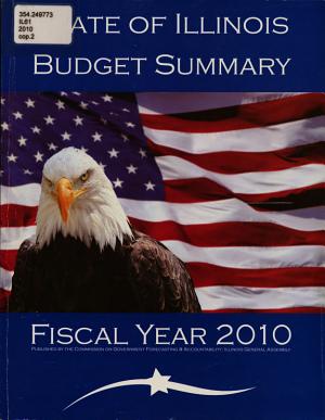 State of Illinois Budget Summary PDF