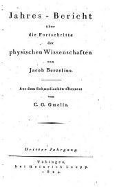 Jahres-bericht über die fortschritte der chemie und mineralogie: Bände 3-4