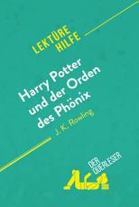 Harry Potter und der Orden des Ph  nix von J  K  Rowling  Lekt  rehilfe  PDF