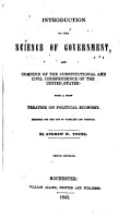 Introduction to the Science of Government PDF