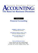 Accounting   the Basis for Business Decisions PDF