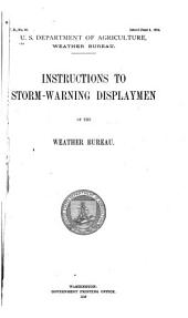 Instructions to storm-warning displaymen ...