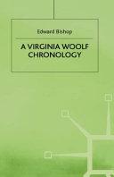 A Virginia Woolf Chronology PDF