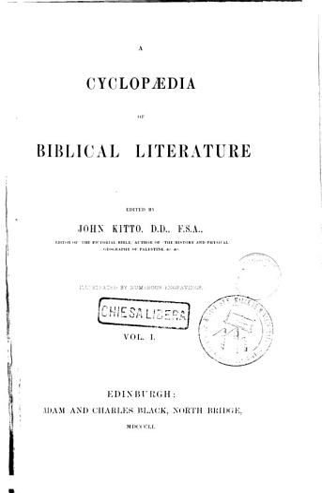 A Cyclopedia of Biblical Literature PDF