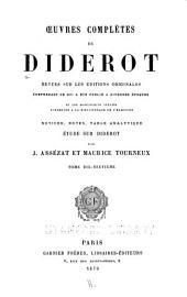 Oeuvres complètes de Diderot: Correspondance, pt. 2: Lettres a Mlle. Volland; Lettres a l'Abbé Le Monnier; Lettres a Mlle. Jodin; Correspondance générale, pt. 1