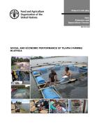 SOCIAL AND ECONOMIC PERFORMANCE OF TILAPIA FARMING IN AFRICA PDF