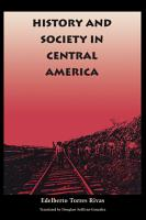 History and Society in Central America PDF