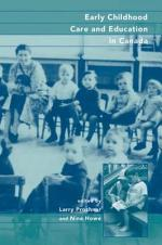 Early Childhood Care and Education in Canada