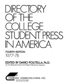 Directory of the College Student Press in America PDF