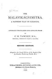 The Mālavikāgnimitra: A Sanskrit Play