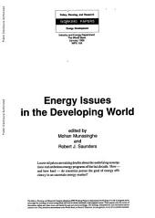 energy issues in the developing world
