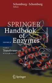 Class 2 . Transferases IX: EC 2.7.1.38 - 2.7.1.112, Edition 2